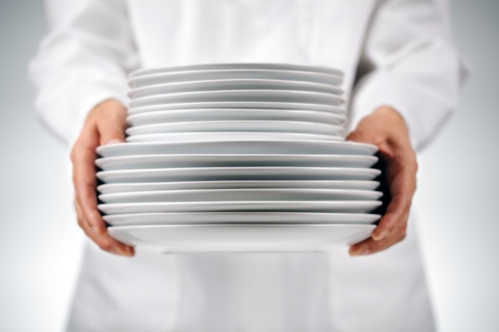 Sanificazione per piatti senza batteri